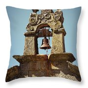 Medieval Campanile  Throw Pillow by Carlos Caetano