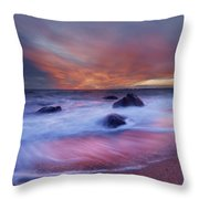 Meigs Point Sunset Throw Pillow