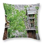 Melba Idaho  Throw Pillow