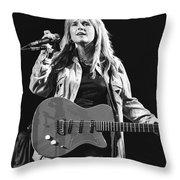 Melissa Etheridge Throw Pillow