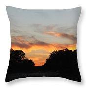 Mellow Sky Throw Pillow