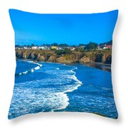 Mendocino C.a. Throw Pillow
