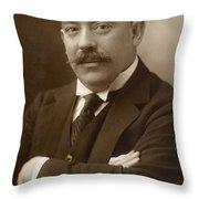 Men's Fashion, C1890 Throw Pillow