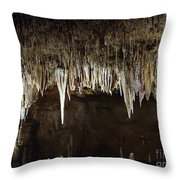 Meramec Caverns Throw Pillow