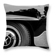 Mercedes-benz Wheel Emblem Throw Pillow