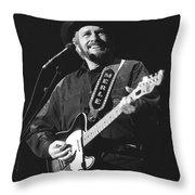 Merle Haggard Throw Pillow