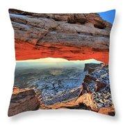 Mesa Arch Frame Throw Pillow