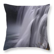 Mesa Falls Throw Pillow by Raymond Salani III