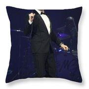 Singer Michael Buble Throw Pillow