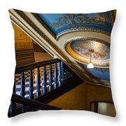Michigan Capitol Building Throw Pillow