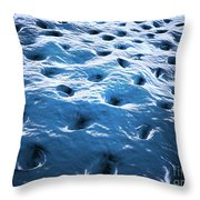 Microscopic View Of Dentine Throw Pillow