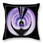 Midnight Bolero Throw Pillow