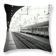 Milan Central Station Throw Pillow