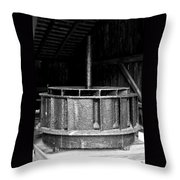 Mill Wheel Throw Pillow