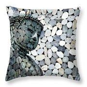 Mineral Daibutsu Throw Pillow