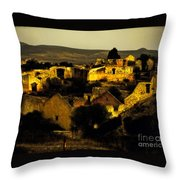 Mineral De Pozos Throw Pillow