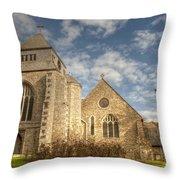 Minster Abbey Throw Pillow