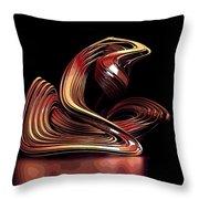 Modern Art Throw Pillow