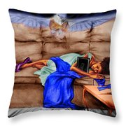 Mommie's Baby Throw Pillow