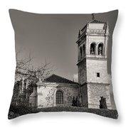 Monastery Of St. Jerome Throw Pillow