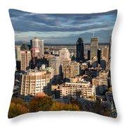 Mont Royal Throw Pillow