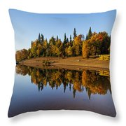 Mont-tremblant National Park Throw Pillow