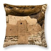 Montezumas Castle 16 Throw Pillow