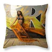 Montiqua Throw Pillow