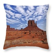 Monument Valley 1 Throw Pillow