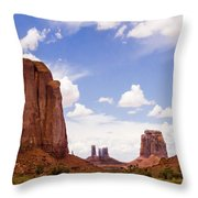 Monument Valley - Arizona Throw Pillow