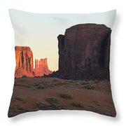 Monument Valley Throw Pillow