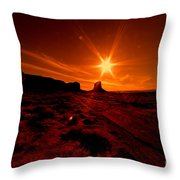 Monument Valley -utah  Throw Pillow
