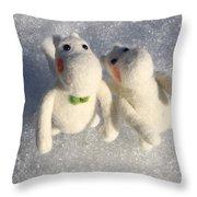 Moomins Throw Pillow