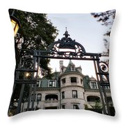 Morrison Hall Occc Throw Pillow