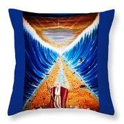 Moses. Throw Pillow