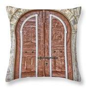 Mosque Doors 09 Throw Pillow