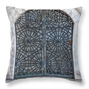 Mosque Window Throw Pillow