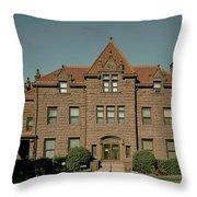 Moss Mansion - Billings Montana Throw Pillow