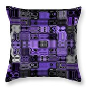 Motility Series 23 Throw Pillow