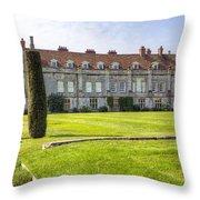Mottisfont Abbey Throw Pillow