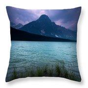 Mount Chephren Throw Pillow