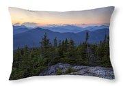 Mount Chocorua Scenic Area - Albany New Hampshire Usa Throw Pillow
