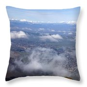 Mount Diablo State Park Throw Pillow
