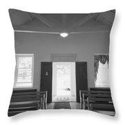 Mount Gilead Ame Church Throw Pillow