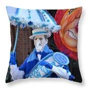 Mummer22 Throw Pillow