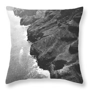 Napali Coast Of Kauai Throw Pillow