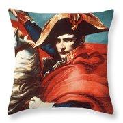 Napoleon Bonaparte (1769-1821) Throw Pillow