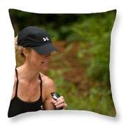 Nashua Sprint Y-tri 11 Throw Pillow
