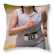 Nashua Sprint Y-tri 112 Throw Pillow