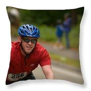 Nashua Sprint Y-tri 256 Throw Pillow